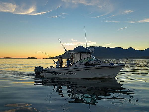 Fishing charters vancouver island nootka marine adventures for Canada fishing resorts
