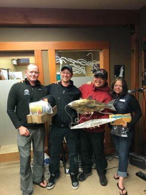 Buzzbomb Prize: Jay Klintopp - 19.6lb Chinook