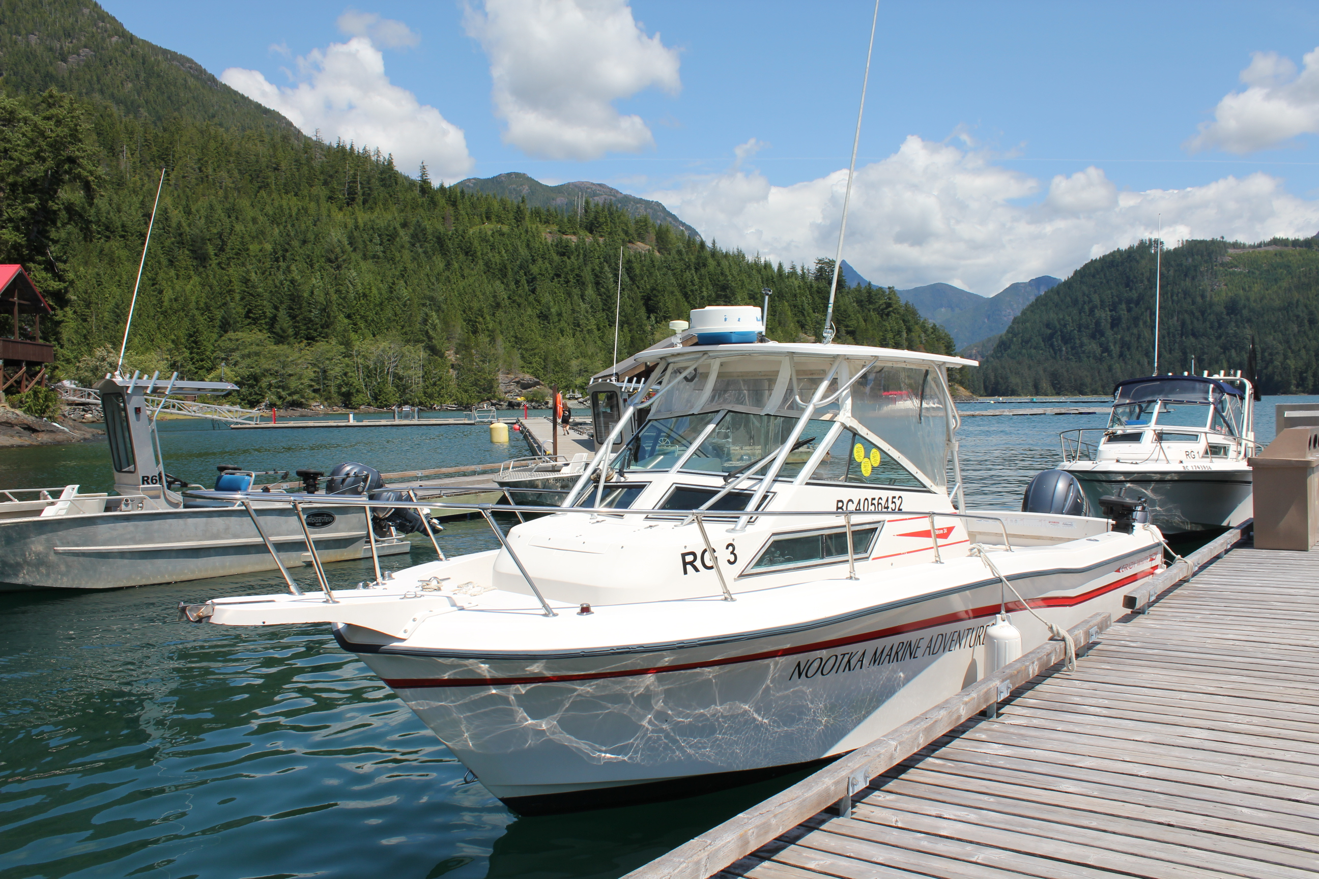 rent fishing boats on vancouver island