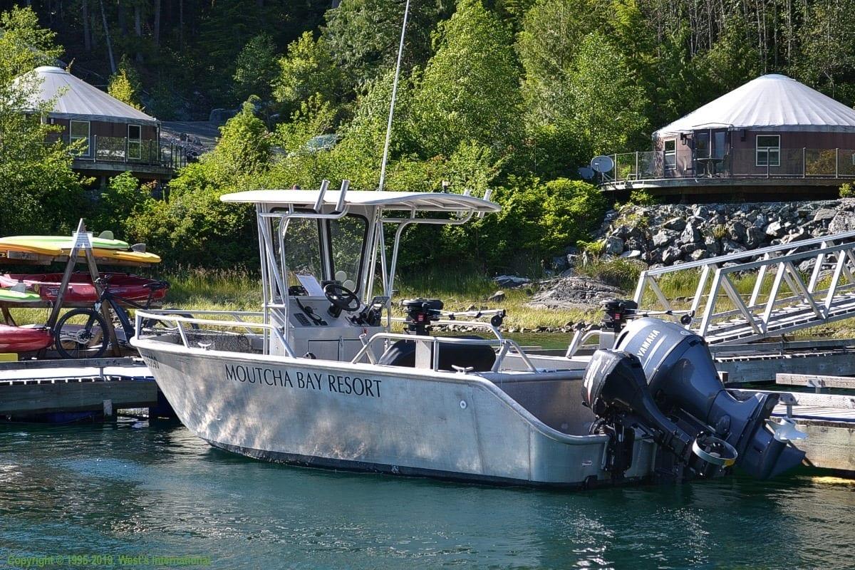 Aluminum fish boat rental vancouver island