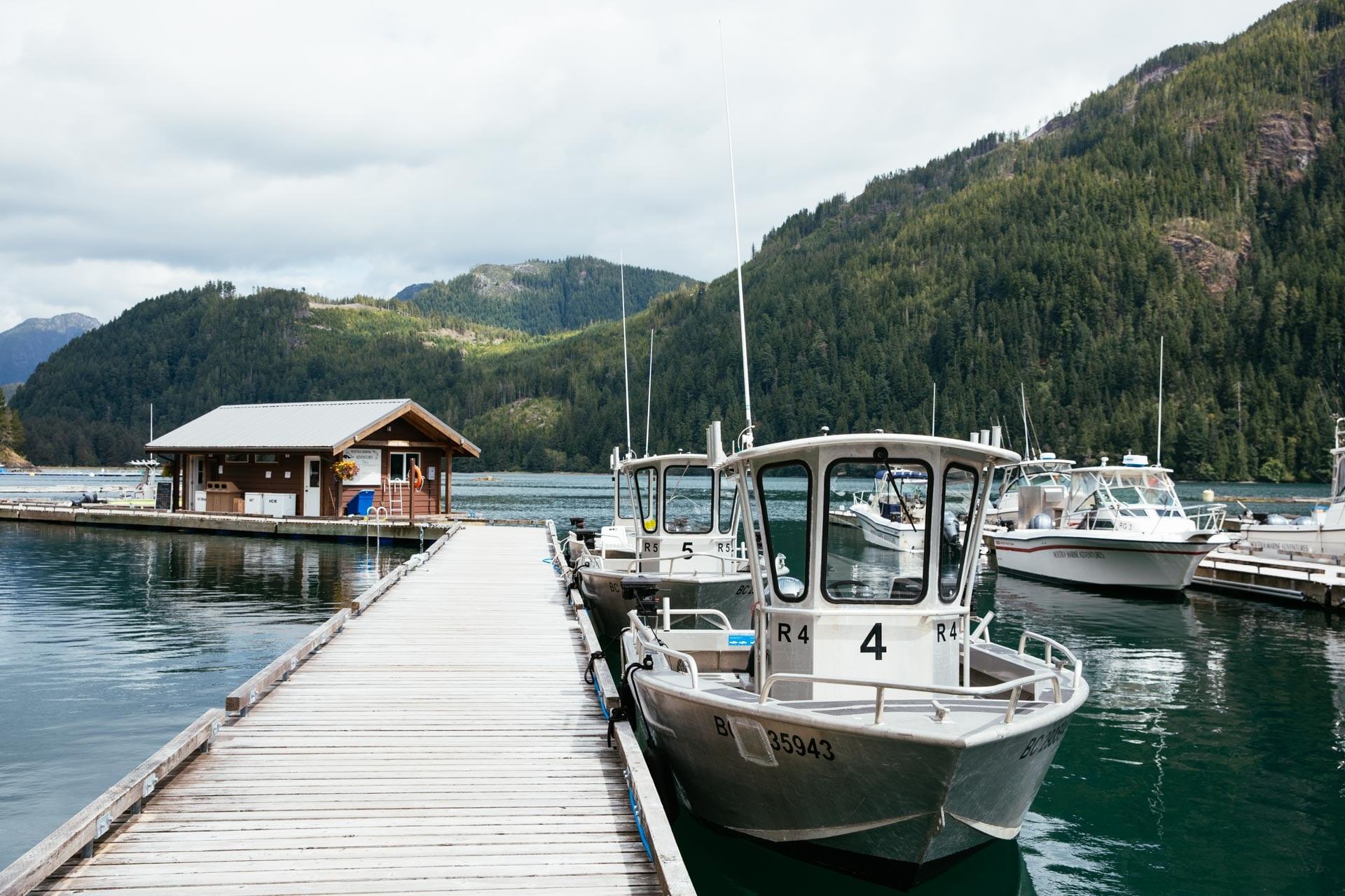 Best fishing Vancouver Island