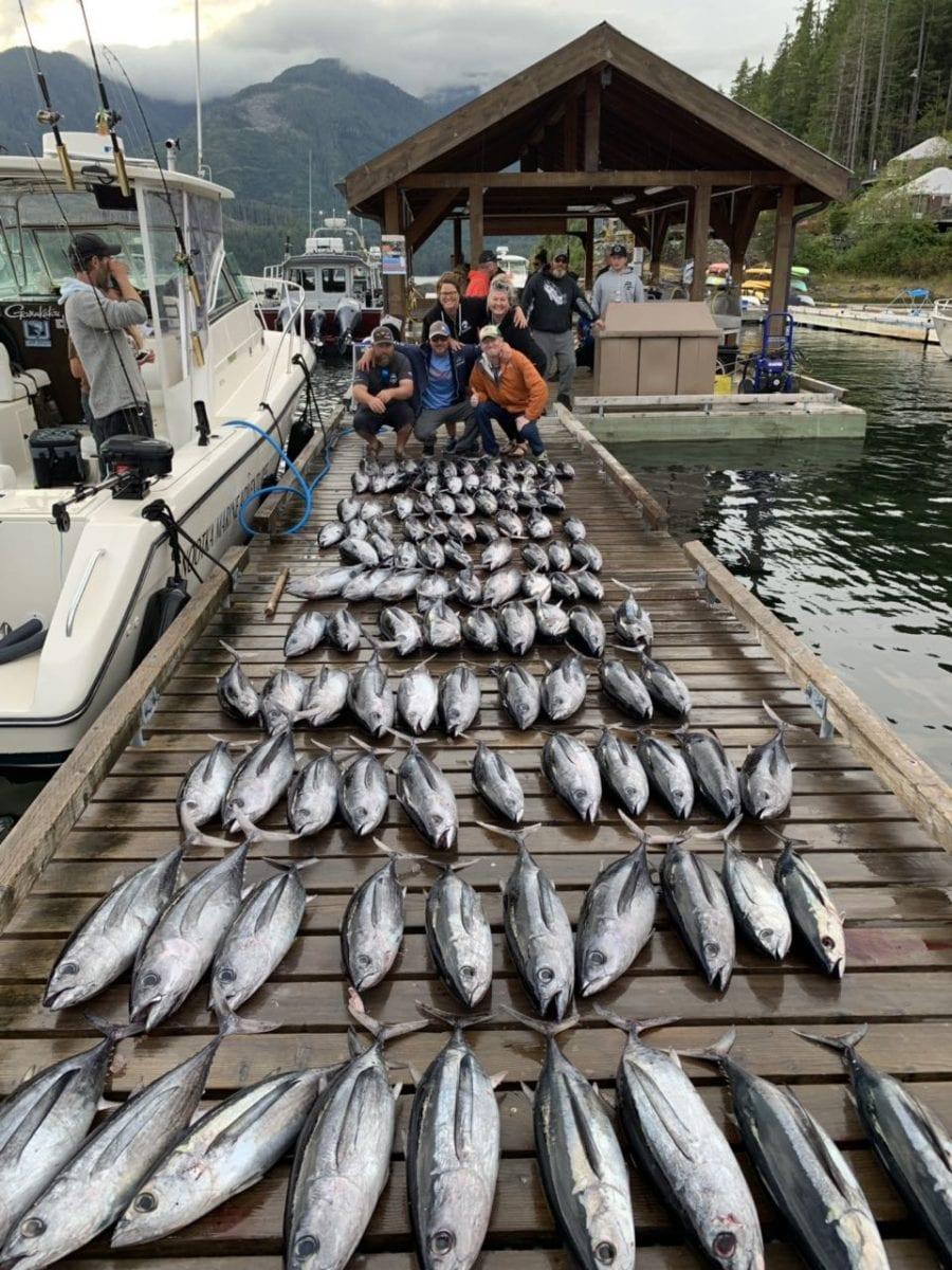 Albacore Tuna Fishing