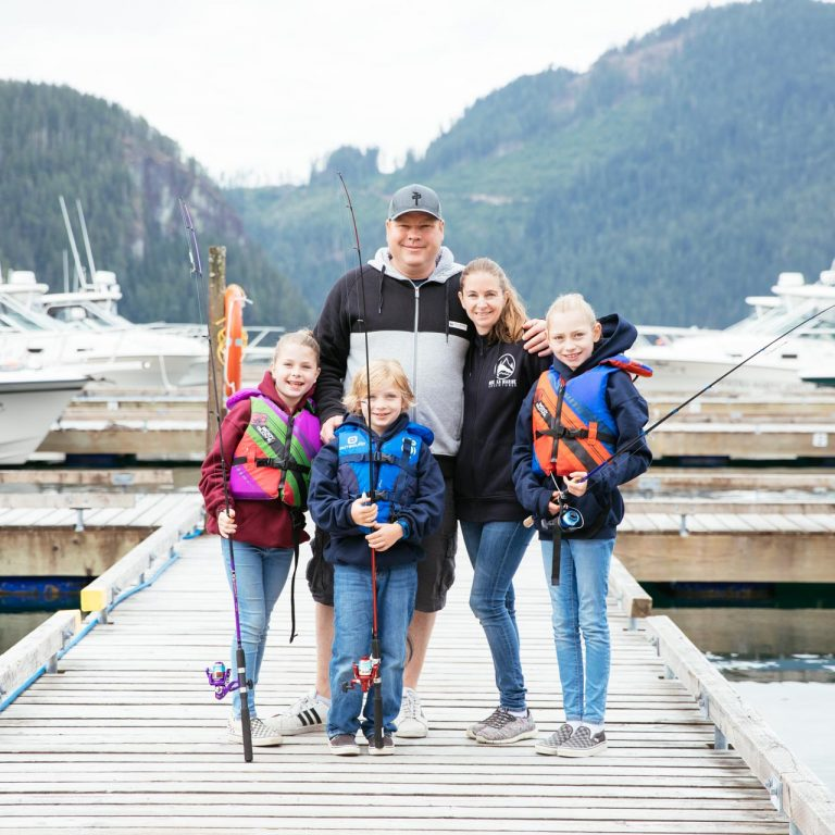 Family Fishing at Moutcha Bay