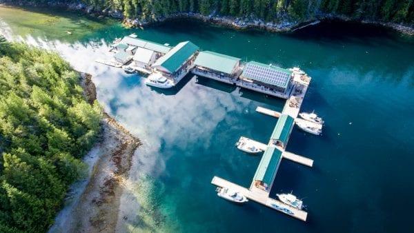 Aerial of Newton Cove Resort