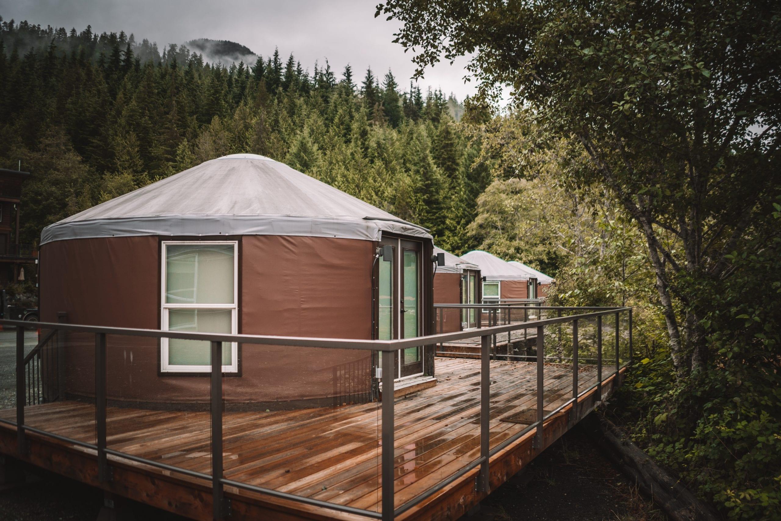 Mini Yurts